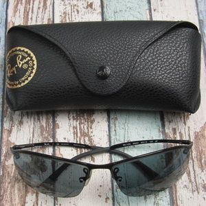 Ray Ban RB 3183 002/81 Man's Sunglasses/OLZ402